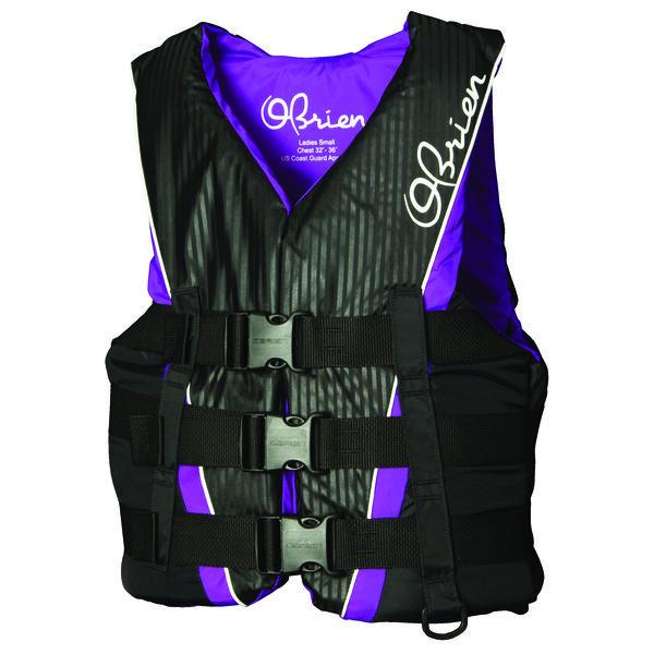 O'Brien Women's 3-Buckle Nylon Life Jacket