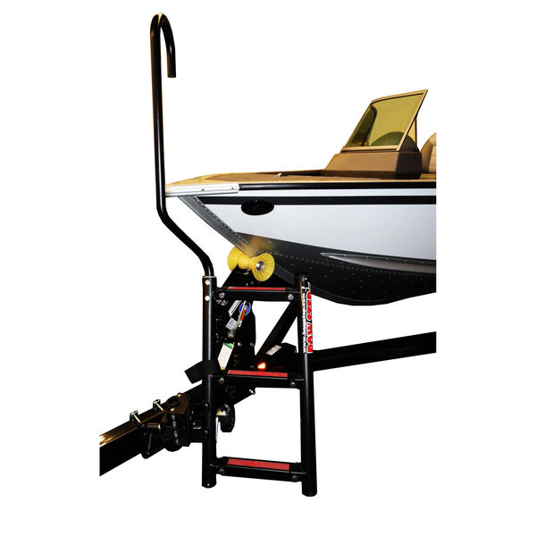 Quality Mark BowStep, 4-Step Ladder (Starboard) with Right Handle
