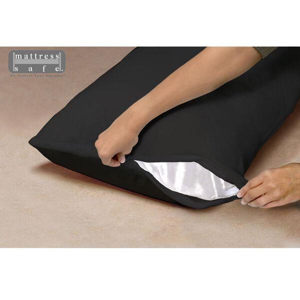 "Standard Waterproof Pillow Encasement, 21"" x 27"", Black Onyx"