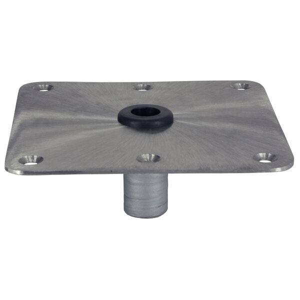 """Springfield KingPin Square Steel Base For Standard Pin Post, 7"""" x 7"""""""