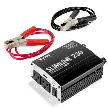 Slimline AC Inverter, 250 Watts