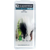 Superfly Grab 'N Go Assorted Bass Flies, 5-Pack