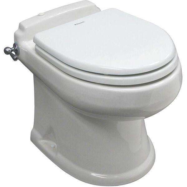 SeaLand Concerto All-Ceramic Toilet, White