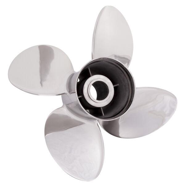 Solas Rubex HR4 4-Blade Propeller, Exchangeable Hub / SS, 13 dia x 21, LH
