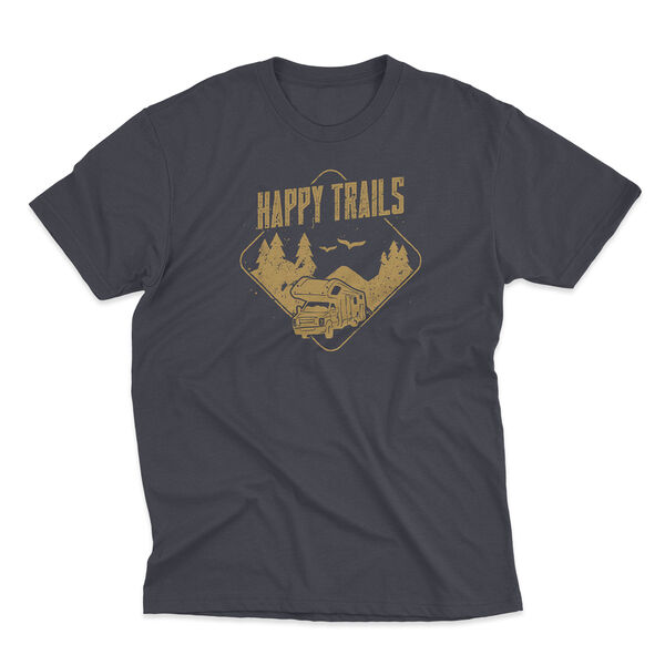 The Stacks Men's Happy Trails Short-Sleeve Tee