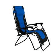 Padded Zero Gravity Chair, Blue