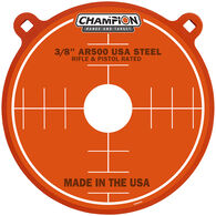 """Champion AR500 12"""" Steel Gong Target, 3/8"""" Thick"""