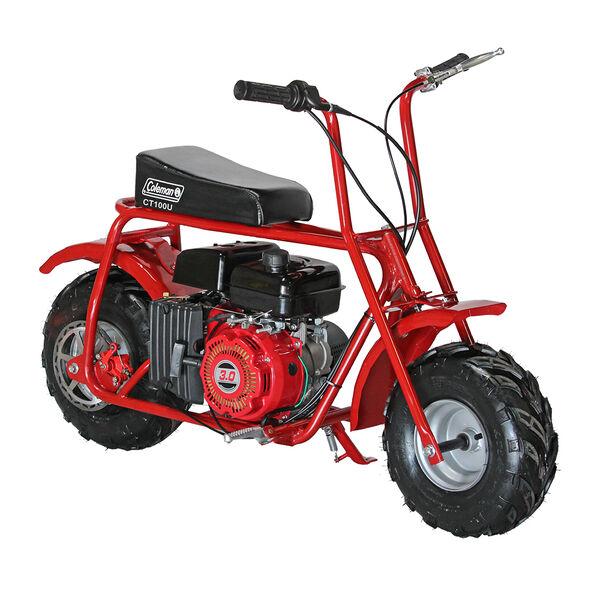 Coleman Powersports CT100U Mini Bike, Red