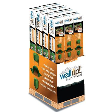 WallUp Portable Privacy Wall, Green