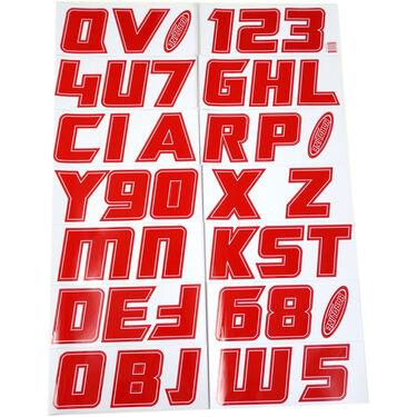 "Hardline 900 Series 3"" Letter/Number Kit"