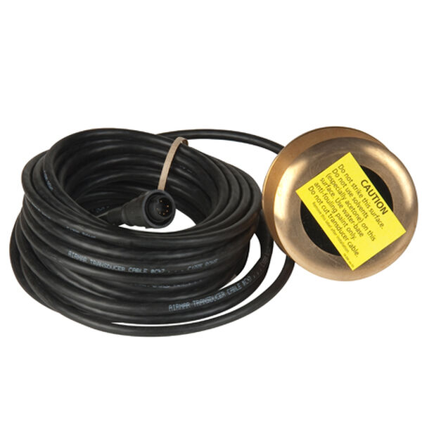 Raymarine 12° Bronze Tilted Element Thru-Hull Transducer, 600-Watt
