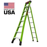 Little Giant Ladders King Kombo Pro Fiberglass 8' Ladder