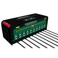 Deltran Battery Tender 10-Bank 6V/12V, 4A Selectable Battery Charger