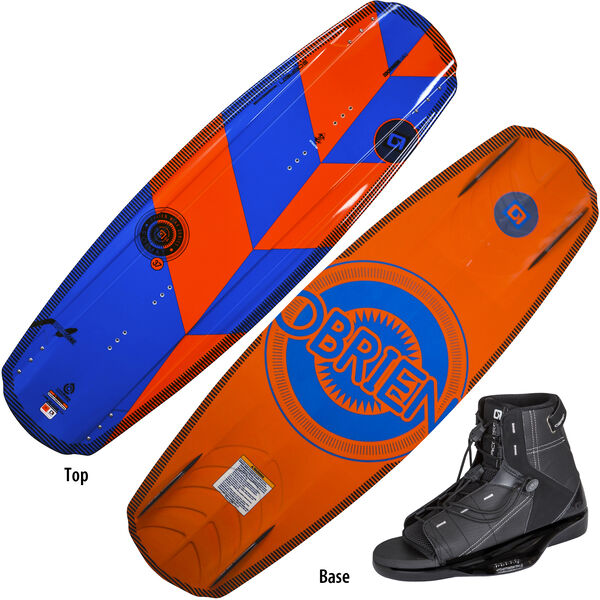 O'Brien Format Wakeboard With Access Bindings