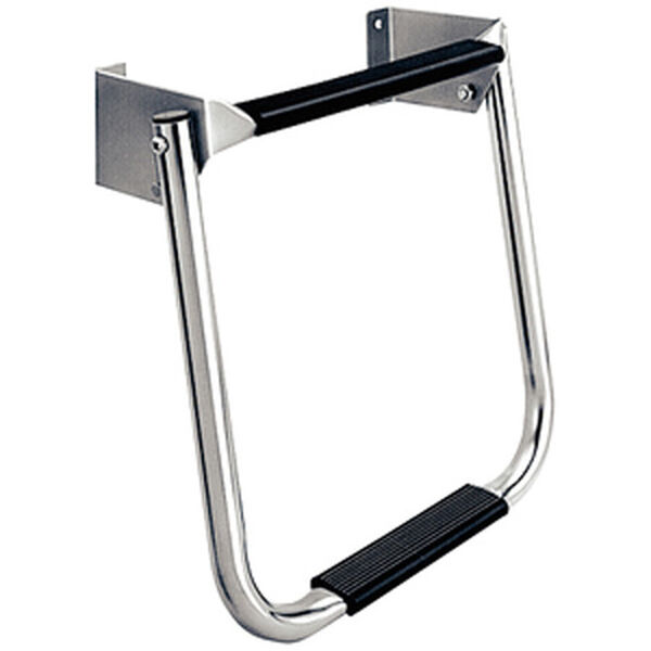 Dockmate Compact Transom Ladder, Stainless Steel