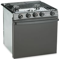 "Atwood Residential Style 21"" Sealed 3-Burner Range, Black"