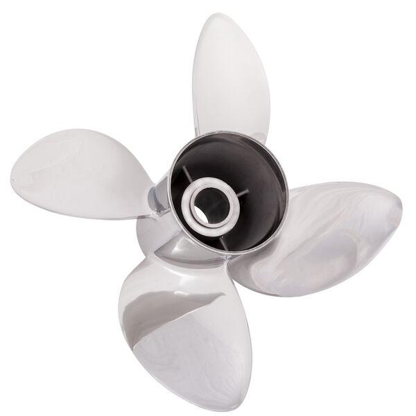 Solas Rubex L4 4-Blade Propeller, Exchangeable Hub / SS, 15.25 dia x 22, LH