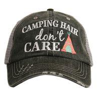 'Camping Hair Don't Care' Katydid Women's Trucker Hat