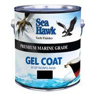 Sea Hawk Gel Coat With Wax Additive, Quart - Black