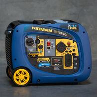 FIRMAN 3300/3000W Recoil Start Hybrid Dual Fuel Inverter Portable Generator Parallel Ready