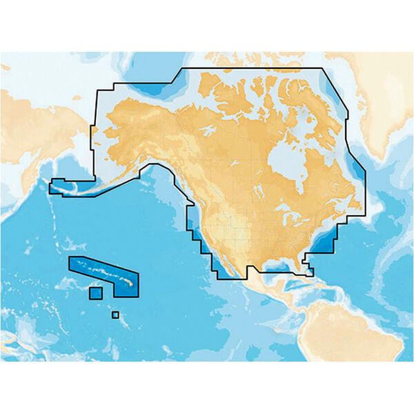 Navionics+ Cartography, Micro SD Card - USA And Canada