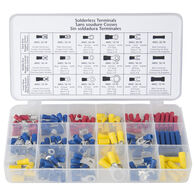 Sierra Solderless Terminal/Connector Assortment, 173-Pack