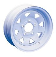 "8-Spoke Wheel 15"" x 6"" - 5 Lugs - 4 1/2"" Bolt Pattern"
