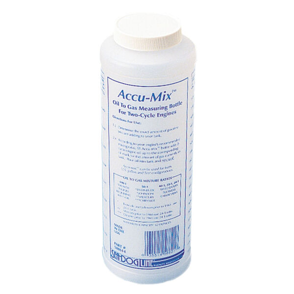 Sea-Dog Accu-Mix Oil-To-Gas Measuring Bottle for 2-Cycle Engines