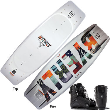 Byerly Agenda Wakeboard With Trace Bindings