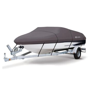 """StormPro Boat Covers, Fits 16'-18' V-hull Boats with Beam Width to 98"""""""