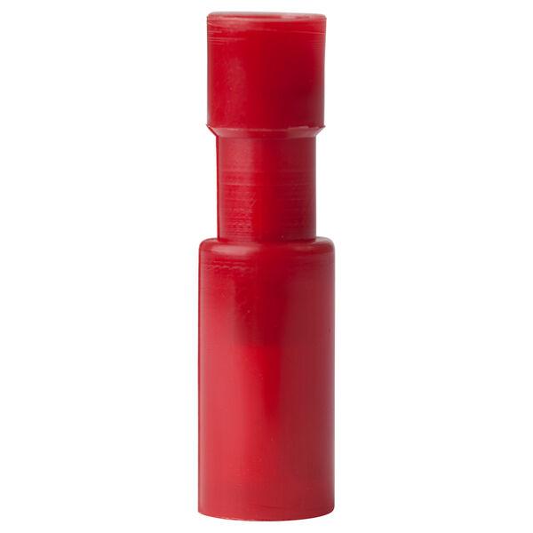 Ancor Nylon Snap Plugs, Female, 22-18 AWG, 25-Pk. - Red