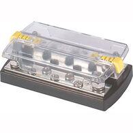 "Blue Sea DualBus 150-Amp Common Busbar - (5) #10-32 Screws, (2) 1/4""-20 Studs"