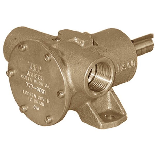 Jabsco Pulley Driven Neoprene Impeller Pump, 23 GPM