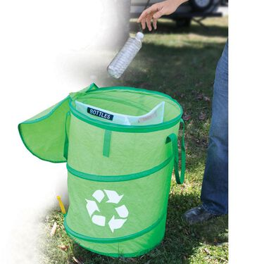 Pop-Up Recycle Container