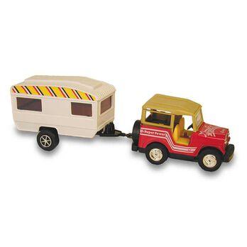 Tran Sporter Jeep and Trailer