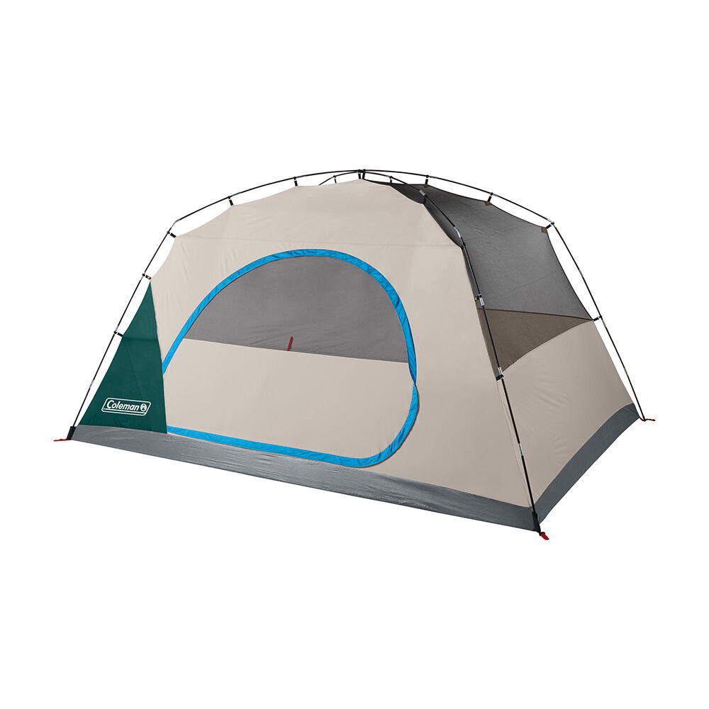 Coleman Skydome 8-Person Camping Tent, Evergreen | Camping ...