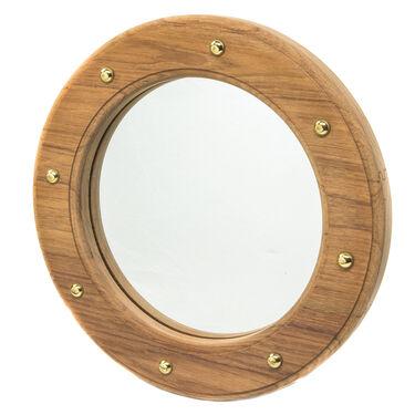 Whitecap Teak Teak Porthole Mirror Frame