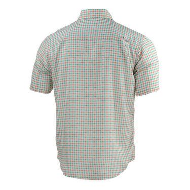HUK Men's Tide Point Woven Plaid Short-Sleeve Shirt