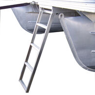 Under Deck Pontoon Boat Ladder For Flat Front Decks Only