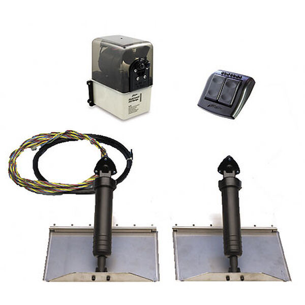"""Bennett Hydraulic Trim Tab System, 30"""" x 12"""""""