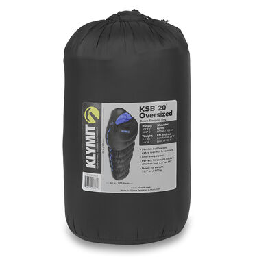 Klymit KSB 20°F Oversized Down Sleeping Bag