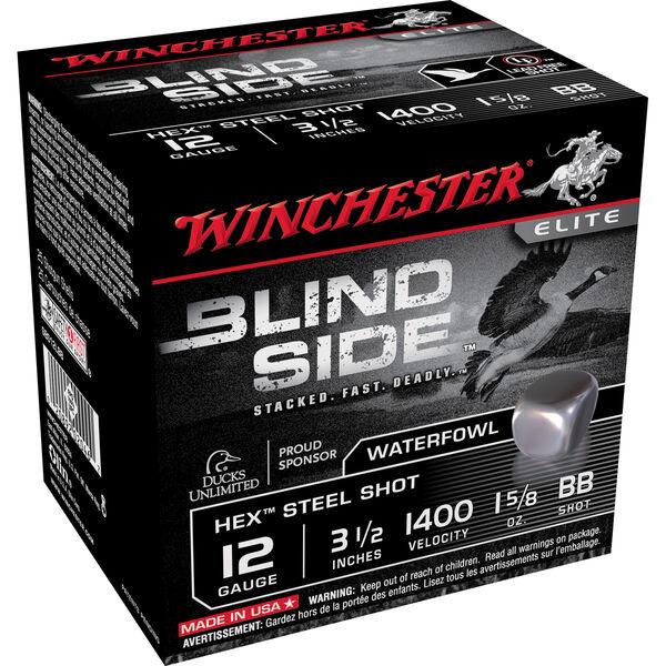 "Winchester Blind Side Magnum Ammo, 12-ga., 3-1/2"", 1-5/8 oz., BB"