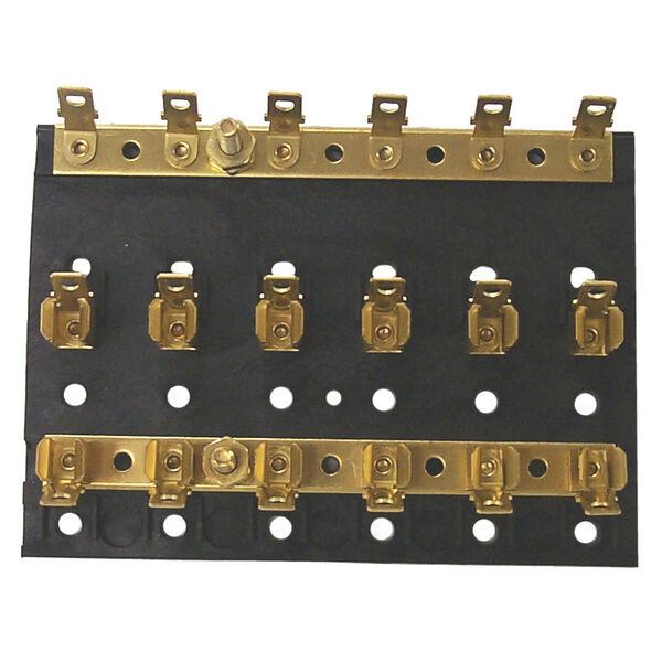 Sierra 6-Gang Fuse Block, Sierra Part #FS40640-1