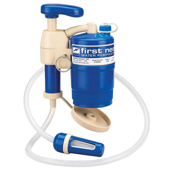 General Ecology First Need XL Elite Portable Water Purification System