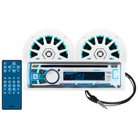 Boss Audio MCK762BRGB.6 CD/USB/SD/MP3 Bluetooth Receiver Package With 2 Speakers
