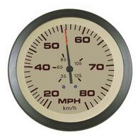 "Sierra Sahara 3"" Speedometer, 80 MPH"