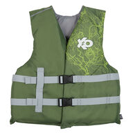 X20 Youth Open-Sided Life Vest - Green