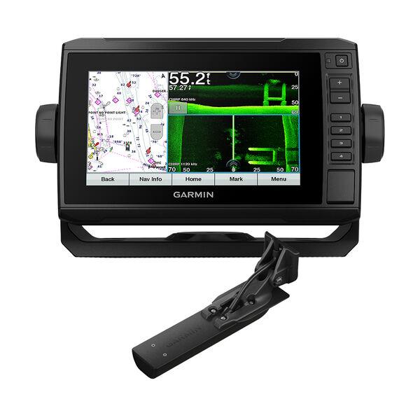 Garmin ECHOMAP UHD 74sv Combo GPS/Fishfinder - Preloaded US Offshore BlueChart; g3 w/GT56UHD-TM