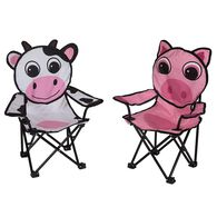 Milky The Cow & Pinky the Pig Chairs, 2 Pack
