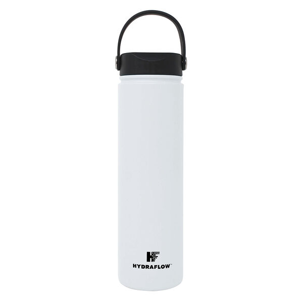 Hydraflow Hybrid 25-oz. Wide Mouth Bottle, White